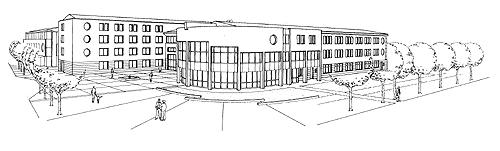 Landratsamt Miltenberg Skizze